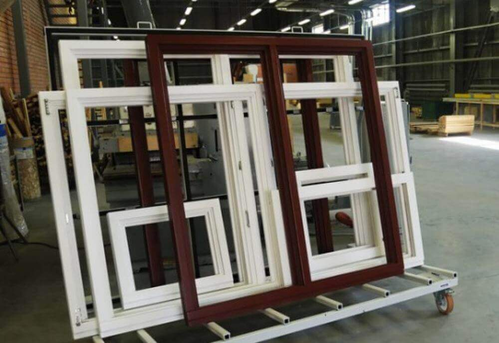 Fabrication and installation of Windows - «Promstroyles»