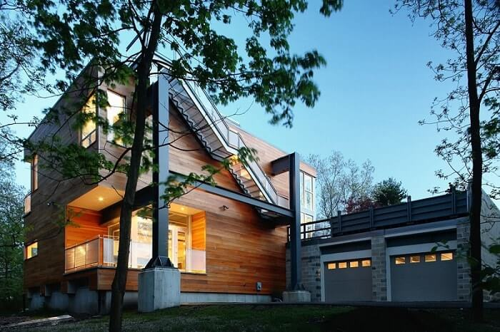 Wooden house CLT
