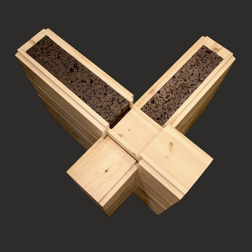Cork Glued Laminated Timber «Сorkbeam» 210