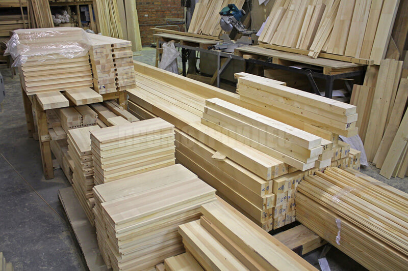 Timber for stairs