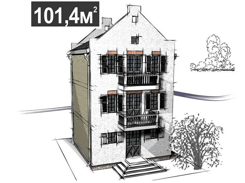 Dutch House 101,4 m2