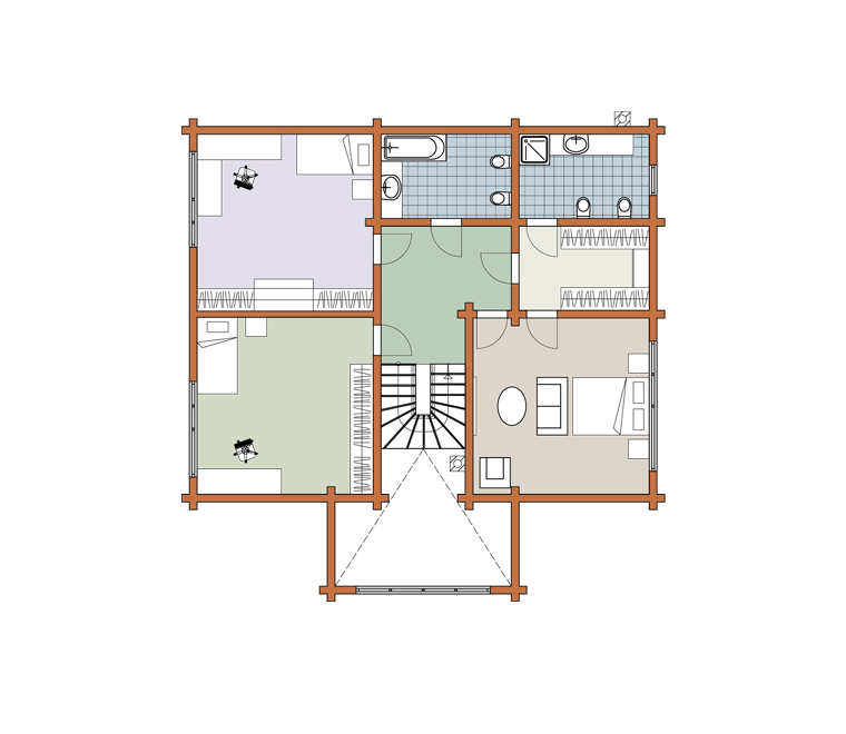 Second floor plan «Project MS-267»
