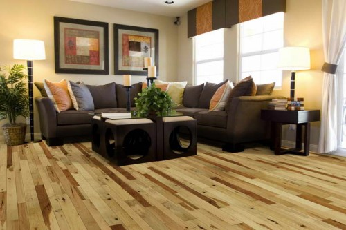Exclusive flooring from valuable breeds of wood